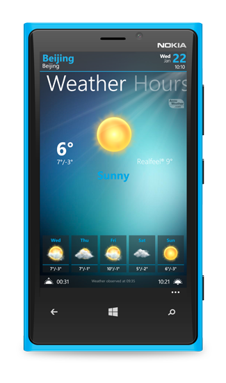 All the weather in your pocket, for free