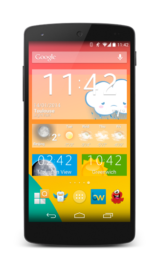 The biggest selection of customization on Android